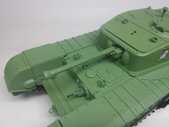 JS-2の砲塔の合わせ目