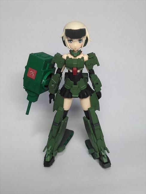 改造したFAガールの轟雷