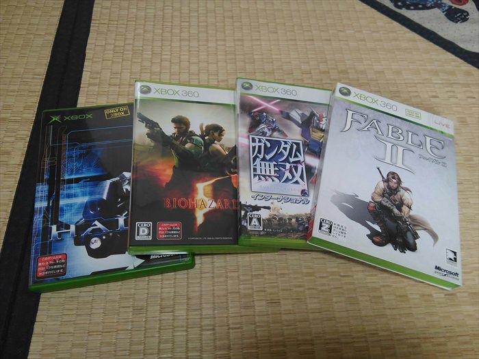 買い取ってもらうゲームソフト