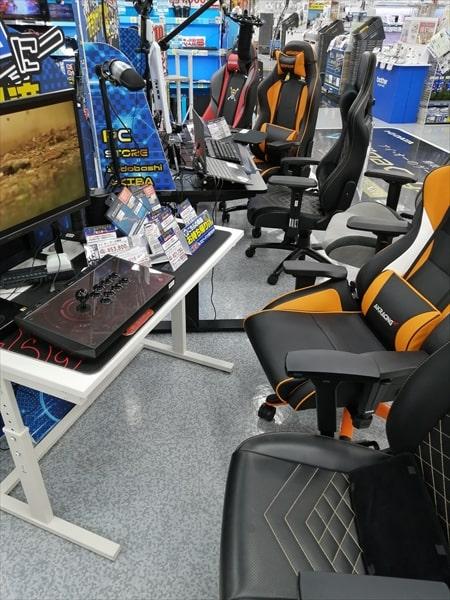ヨドバシAKIBAのゲーミング環境を体験できる売り場