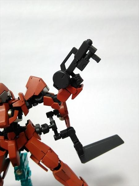 ランスユニットの射撃状態