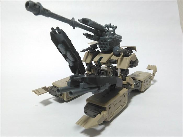 色々なM.S.Gを装備したムーバブルクローラー