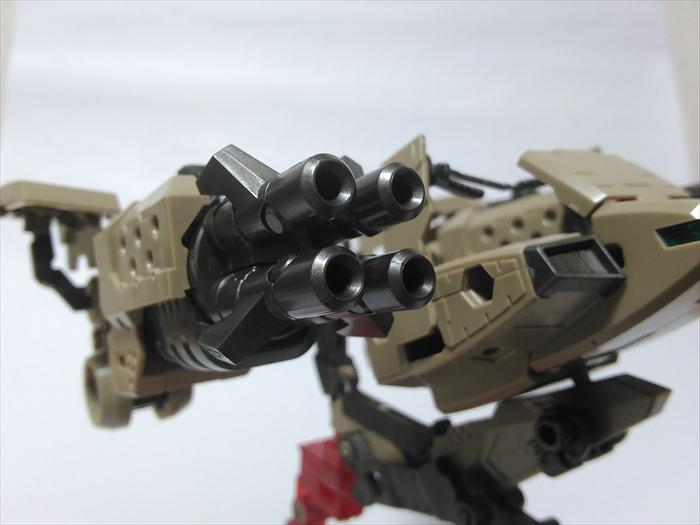 ブリッツガンナーの武器部分