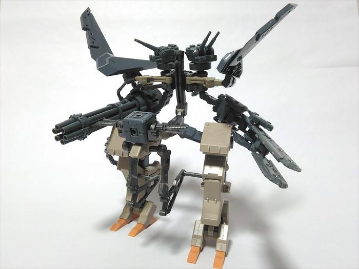 M.S.Gを組み換えて作ったオリジナルロボ