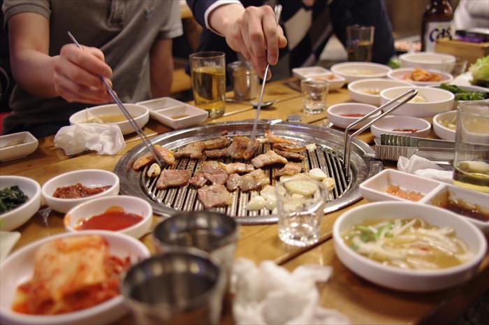 同窓会で焼き肉