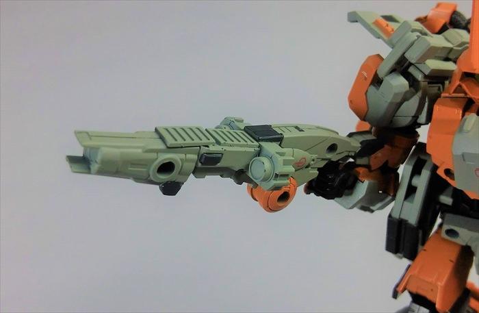 改造したライフル
