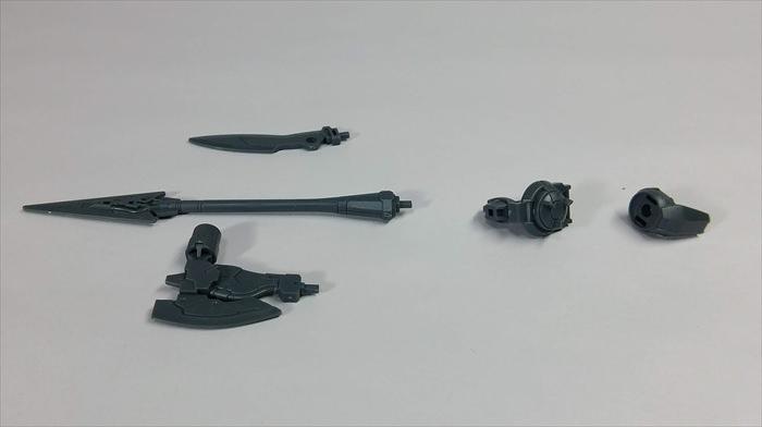 ポルタノヴァ用オプションウェポン1の近接系武器