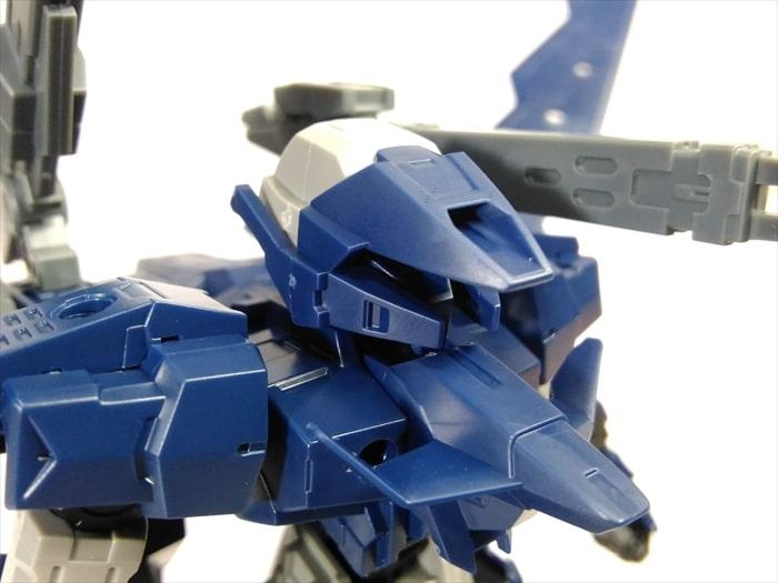 アルト空中戦仕様の顔と胸部