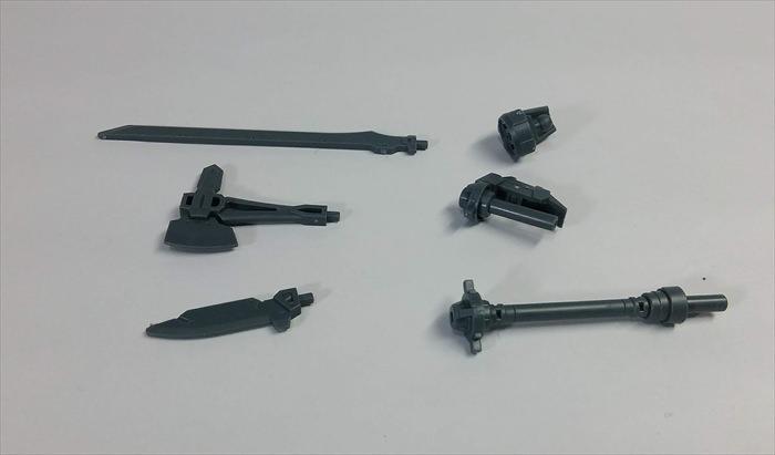 アルト用オプションウェポン1の近接武装