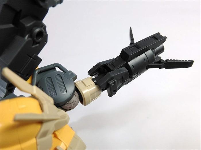 マルチブースターユニットを使った武器腕カスタマイズ