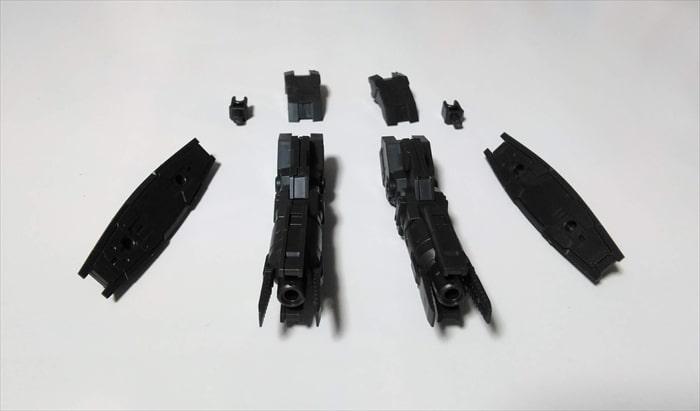 マルチブースターユニットの全パーツ