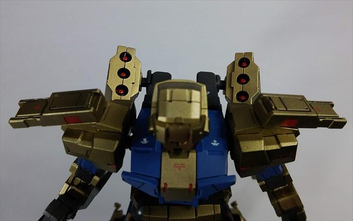 背中の武装