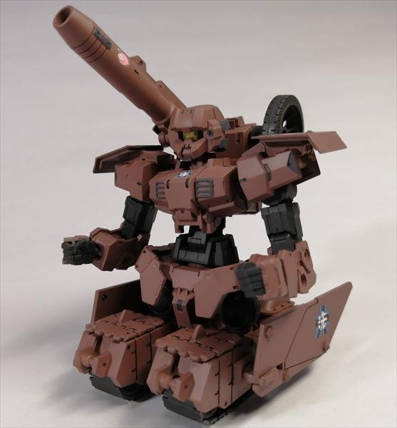 ガルパンのⅣ号戦車っぽく改造したアルト陸戦仕様