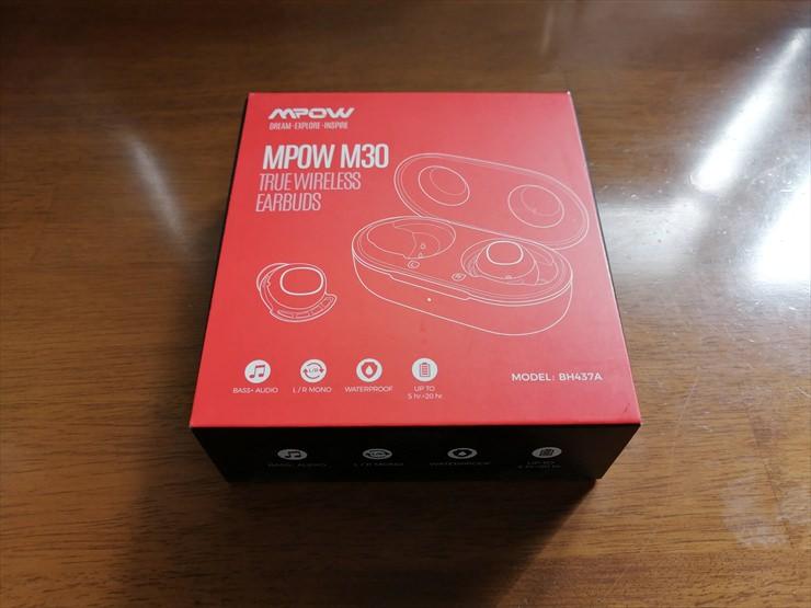 MPOW M30の箱
