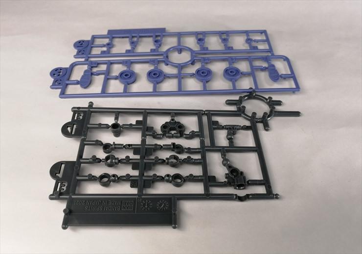 30MSオプションボディパーツタイプG01カラーAのランナーBとC